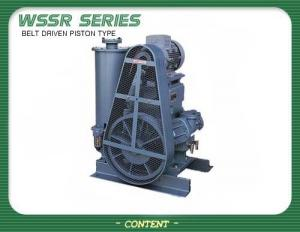 PISTON TYPE VACUUM PUMP